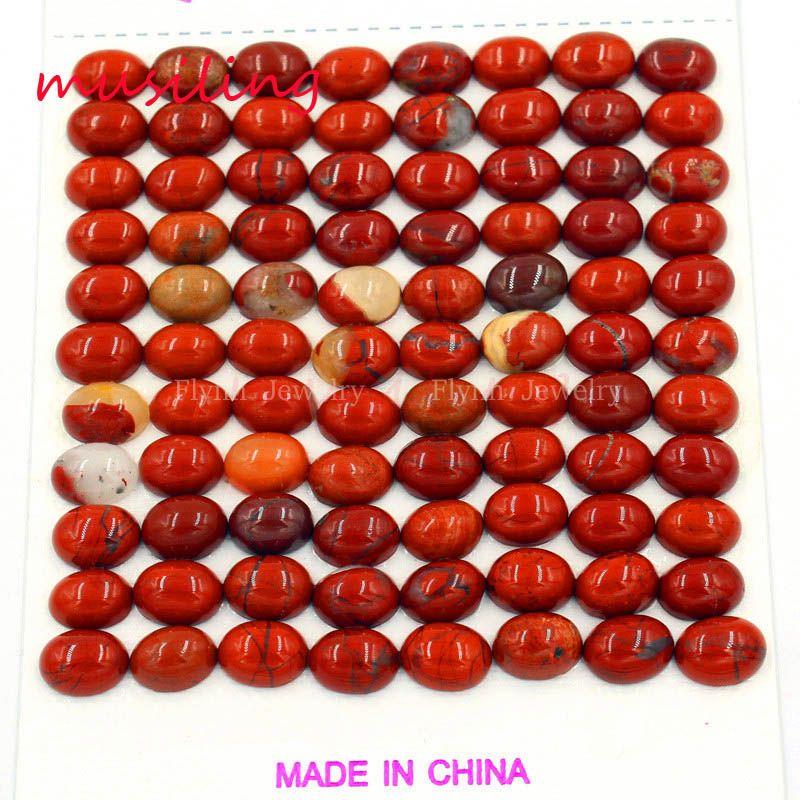 Perle piatte 6x8mm Natural Gem Stone Beads DIY Monili Che Fanno Quarzo Rosa Ametista ecc Branelli Allentati Charms Accessori gioielli