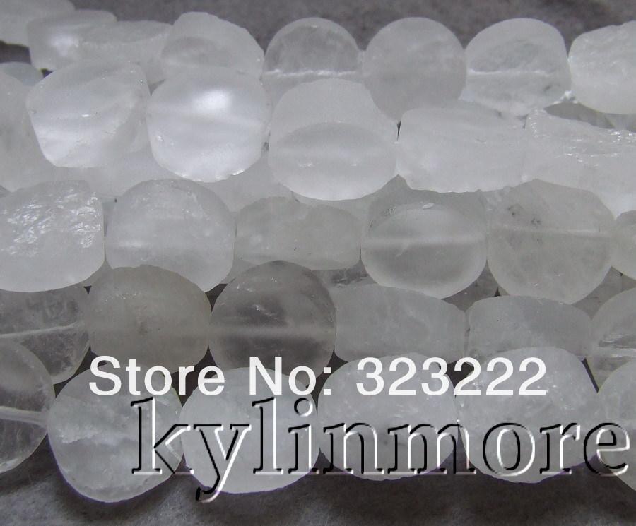 Perle in cristallo bianco da 20mm