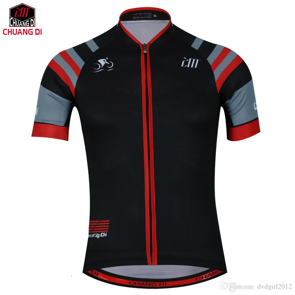 ZM Cycling Jerseys 2018 Black White Summer Breathable Short Sleeve MTB Road Bicycle  Bike Jersey Shirt Sport Wear Skinsuit 1d9cf338c