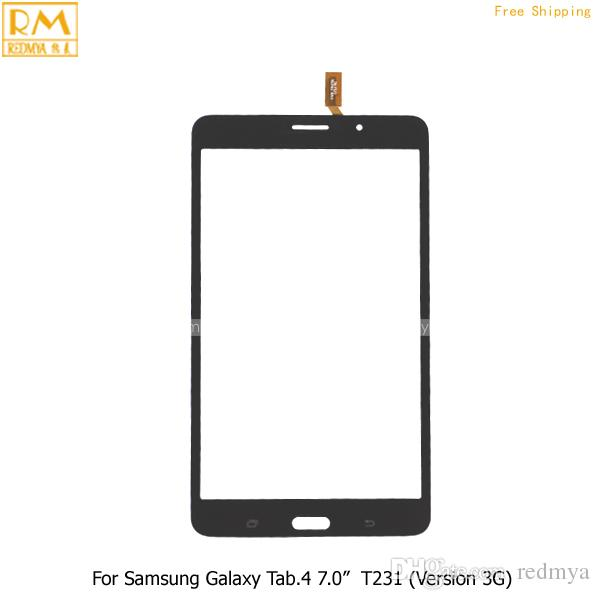 For Samsung Galaxy Tab.4 Lite 7.0' Wifi Ver T230 & 3G Ver T231 Front Touch Screen Panel Digitizer Outer Glass Sensor Replacement Parts
