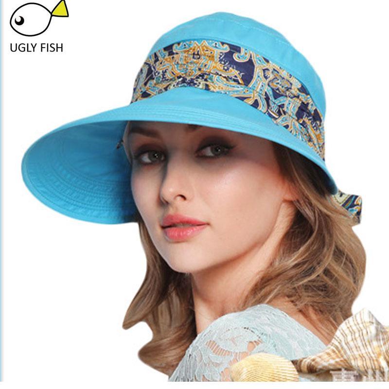 9549b3a9b6f Sun Hats Summer Hats for Women Beach Hat Sun Visor Hat Visor High ...