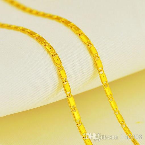 شظية سلسلة الزفاف قلادة قلادة مطلية بالذهب ، 24k قلادة الذهب شغلها 2014 للنساء المجوهرات