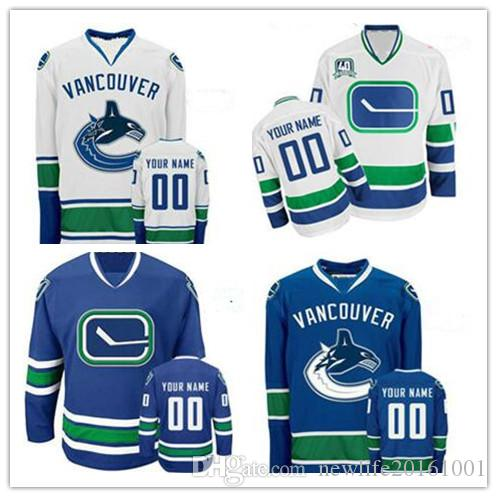 d588da55b ... White Adidas Authentic customize Away Vancouver Canucks NHL Jersey  Stitched Personalized Vancouver Canucks Custom Mens Womens Youth Cheap Ice  Hockey ...