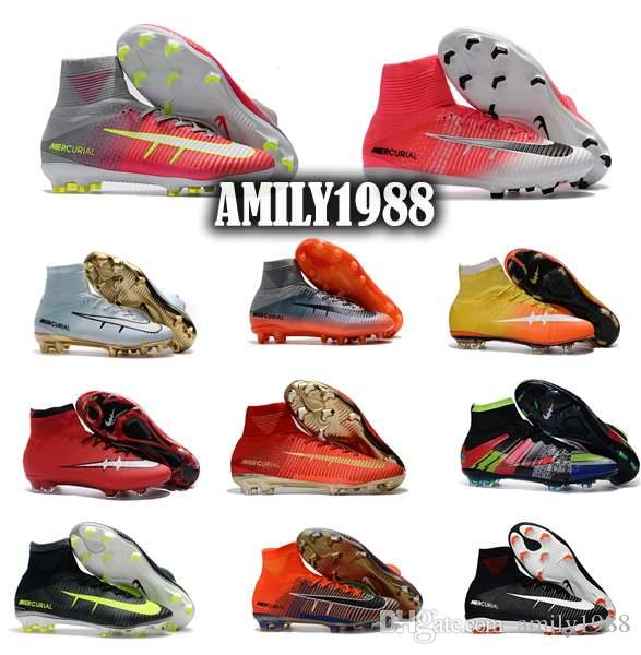 cheap sale marketable pictures 2017 free shipping cristiano ronaldo mercurial superfly cleats cr7 ag fg mens soccer boots shoes cheap original superflys acc football shoes cheap factory outlet brand new unisex for sale 3jHJhKkkE5