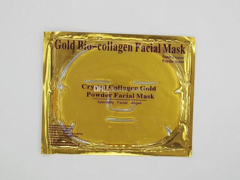 Gold Collagen Facial Mask Anti Wrinkle Anti Aging Facial Mask Face Whitening Masks Skin Care Face Lifting Firming