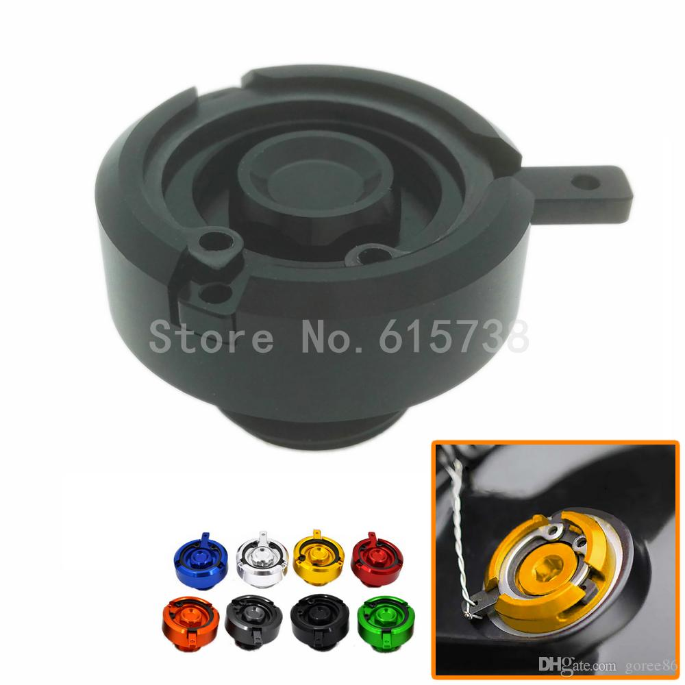 1 piece Brand New Motorbike Engine Oil Filter Cup Plug Cover For Kawasaki honda yamaha ducati