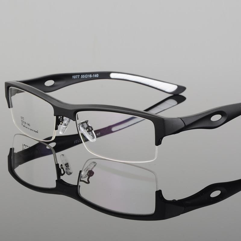 b4ba2e56c50 2019 Wholesale Male Super Light Only 11g Plastic Titanium Eye Glasses Frames  For Men Sports Style Clear Lenses Prescription Eyewear Eyeglass From Tonic
