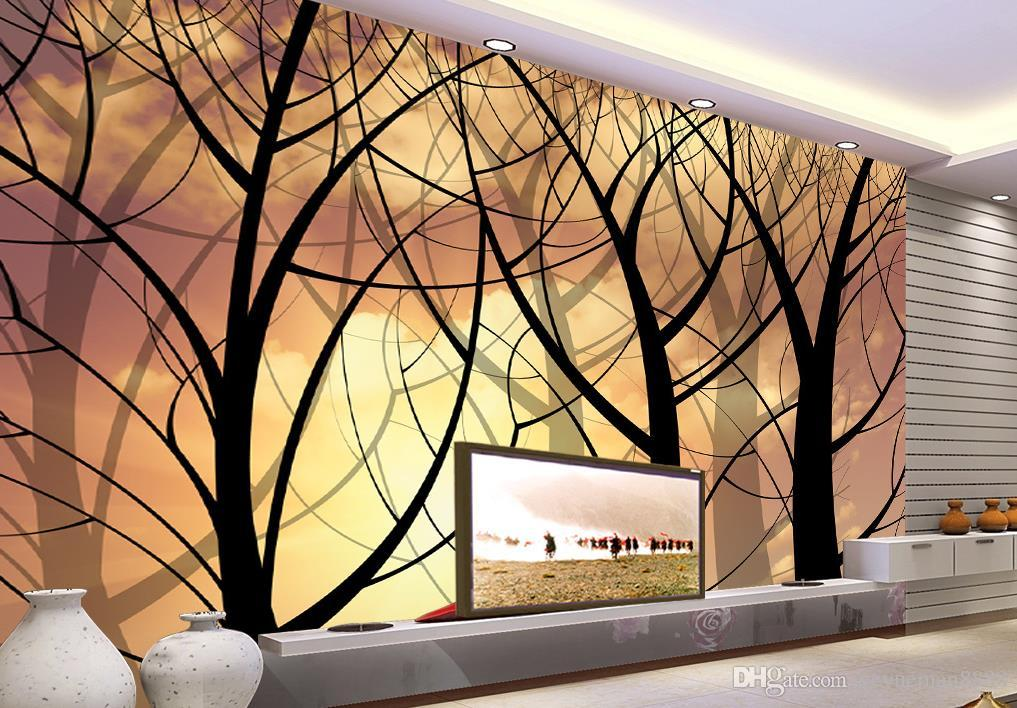Harry Potter Bedding Custom 3d Wall Mural Nonwoven Wallpaper Abstract Tree  Tv Background Wall For Sitting Room High Resolution Free Wallpapers High ...