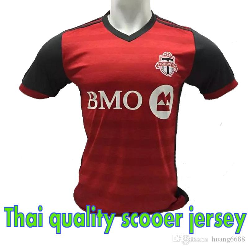 2019 Thai Quality 2017 2018 MLS BRADLEY GIOVINCO OSORIO ALTIDORE Shirt 17 18  Toronto FC Home Red Jersey From Huang6688 eec84be60