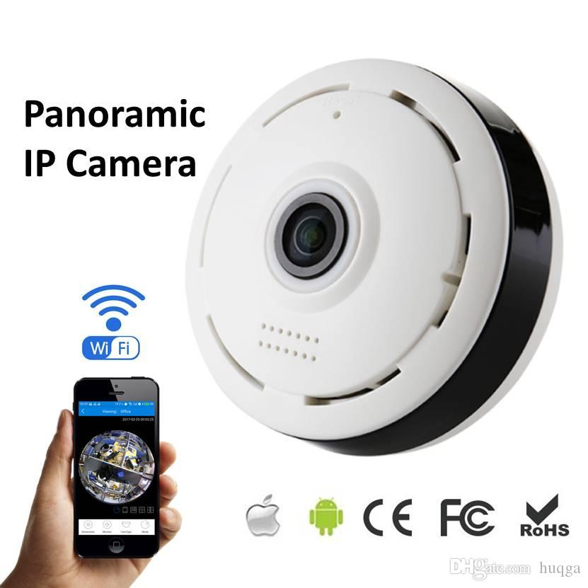 360 Degree Panorama Cctv Camera Wifi 960p Hd Wireless Vr