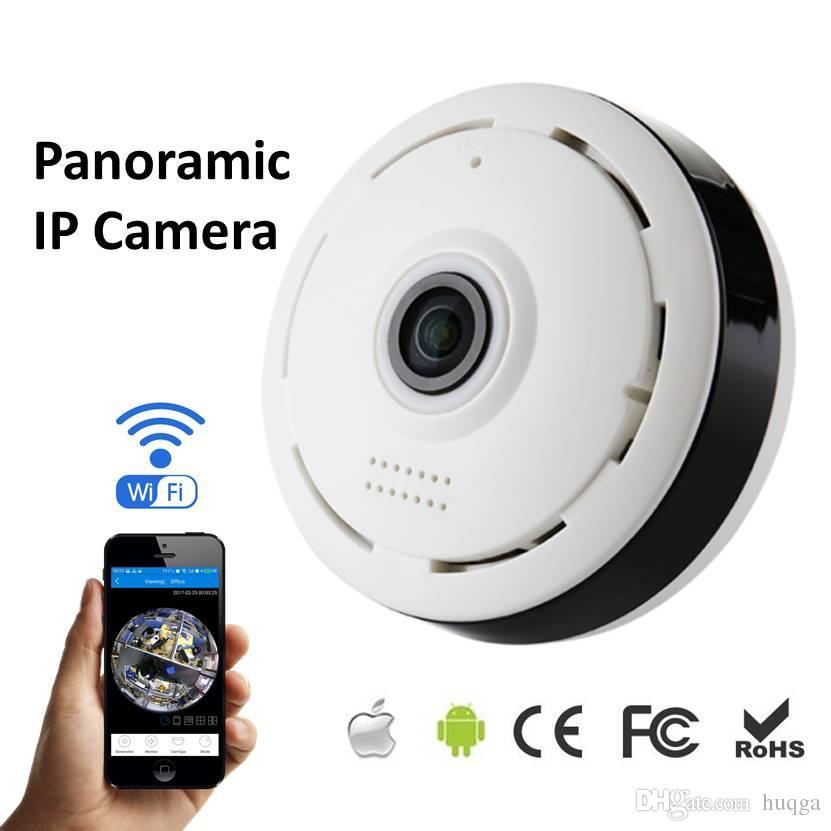 360 Degree Panorama CCTV Camera Wifi 960p HD Wireless VR IP Camera Remote  Control Surveillance Camera P2P Indoor IPCam V380