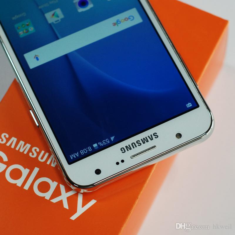 Samsung Galaxy J7 d'origine remis à neuf J700F 5.5inch Octa base 1.5G RAM 16G ROM Téléphones cellulaires 4G