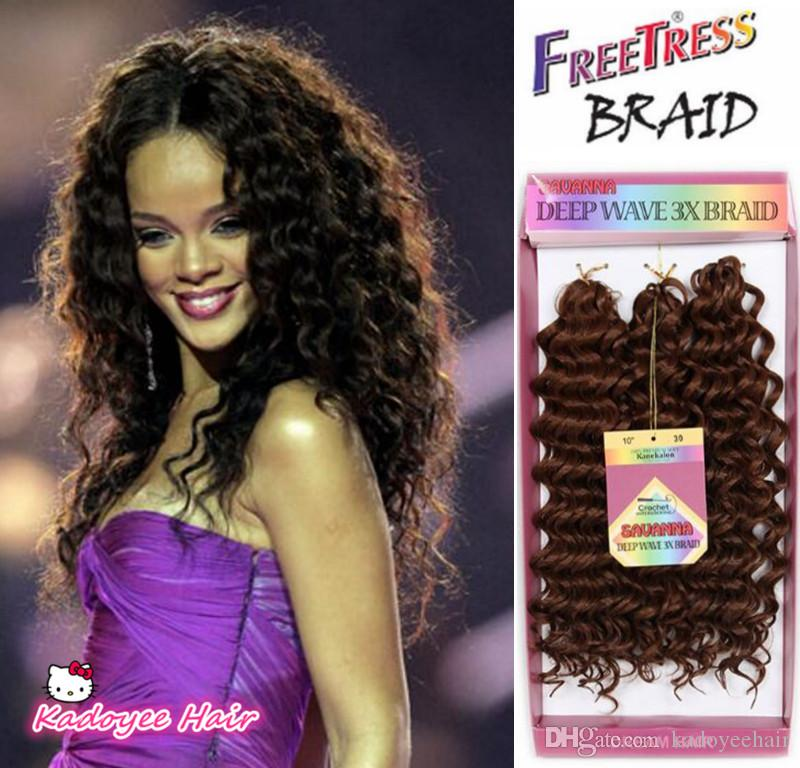 Best Synthetic Bounce Gogo Curl Kanekalon Hair Extension 3x Savana