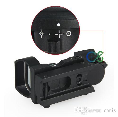 PPT Tactical Red Dot Scope Tactical 4 Reticles Red Dot Sight For Hunting Shooting Use CL2-0062