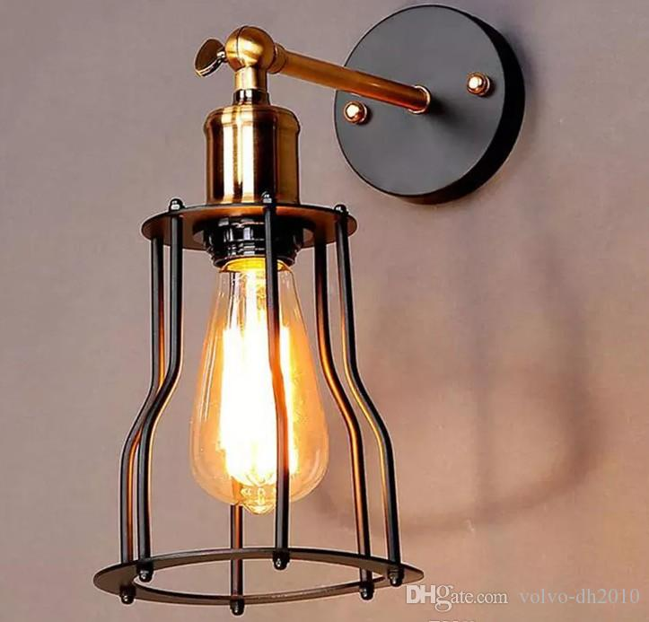 2019 Industrial Edison Vintage Wall Sconce Lamp 1 Light