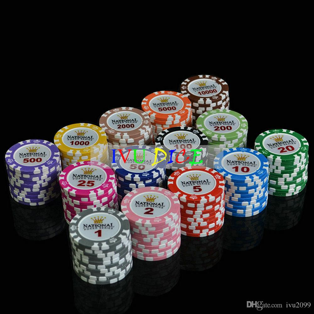 see larger image - Clay Poker Chips