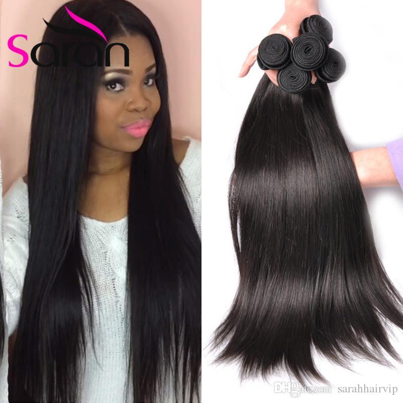 Peruvian Straight Human Hair 7a 100 Uprocessed Peruvian Straight