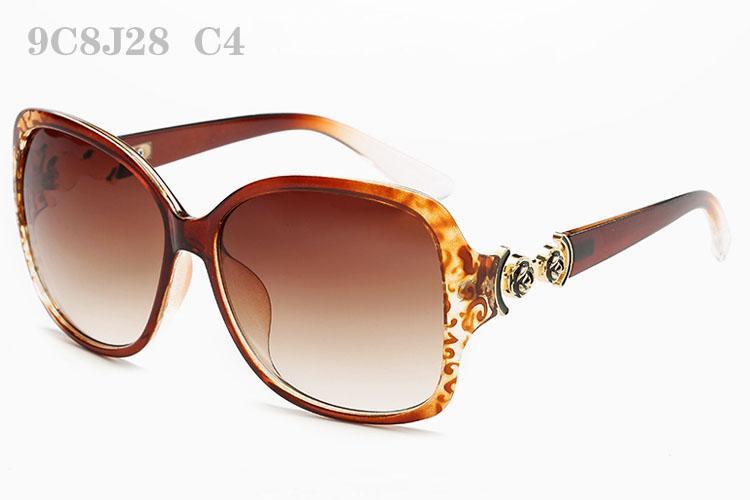 Óculos De Sol Para As Mulheres de Luxo Sunglass Moda Feminina Sunglases Senhoras Do Vintage Óculos de Sol Mulher Flor Designer Óculos De Sol 9C8J28