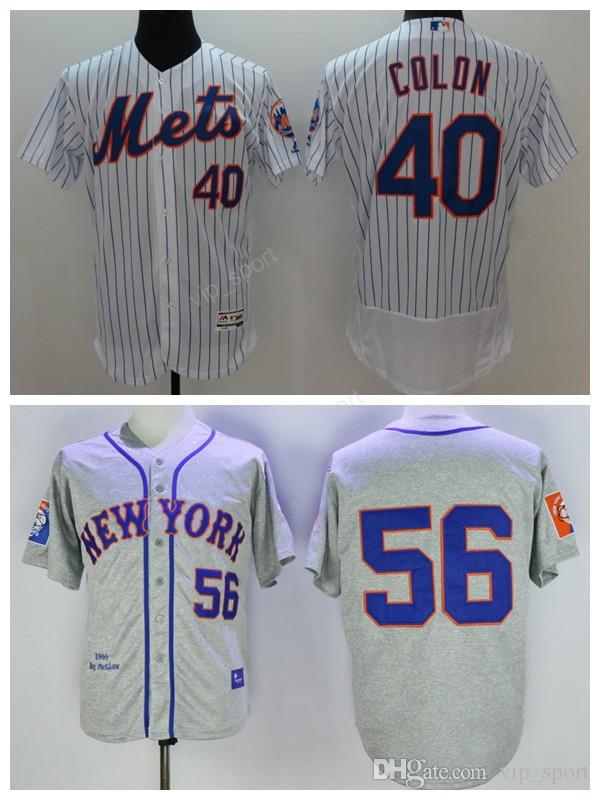 8c8c14e87 ... new arrivals 2017 wholesale 40 bartolo colon jersey men new york mets  baseball 56 tug mcgraw