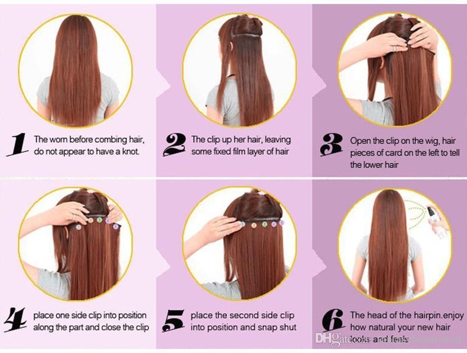 Kinky Straight Clip In Human Hair Extensions Italian Coarse Yaki Human Hair Brazilian Virgin Hair Clip In Extension