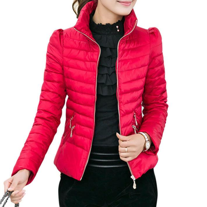 Casaco Feminino Inverno 2017 Winter Jacket Women Slim Office Ladies