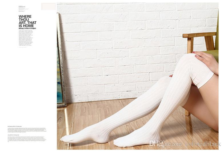 Outono Inverno New Estilização Meia-alta Algodão Fancy Mulheres Meias Nove Cores Para Você Fahsion Best Seller Presentes