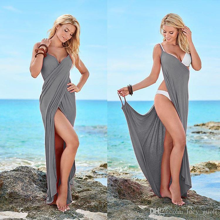 Hot Sale Summer Dresses for Women Fashion Ruffle Beach Casual Dress Elegant Ladies Sexy Halter Prom Party Evening Dresses Party Long Dress