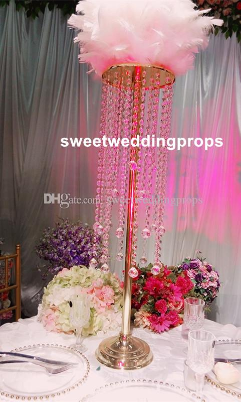 New style gold crystal centerpieces for wedding table tall flower new style gold crystal centerpieces for wedding table tall flower candle stands fiber wedding mandap decoration indian mandap wedding decoration wedding junglespirit Choice Image