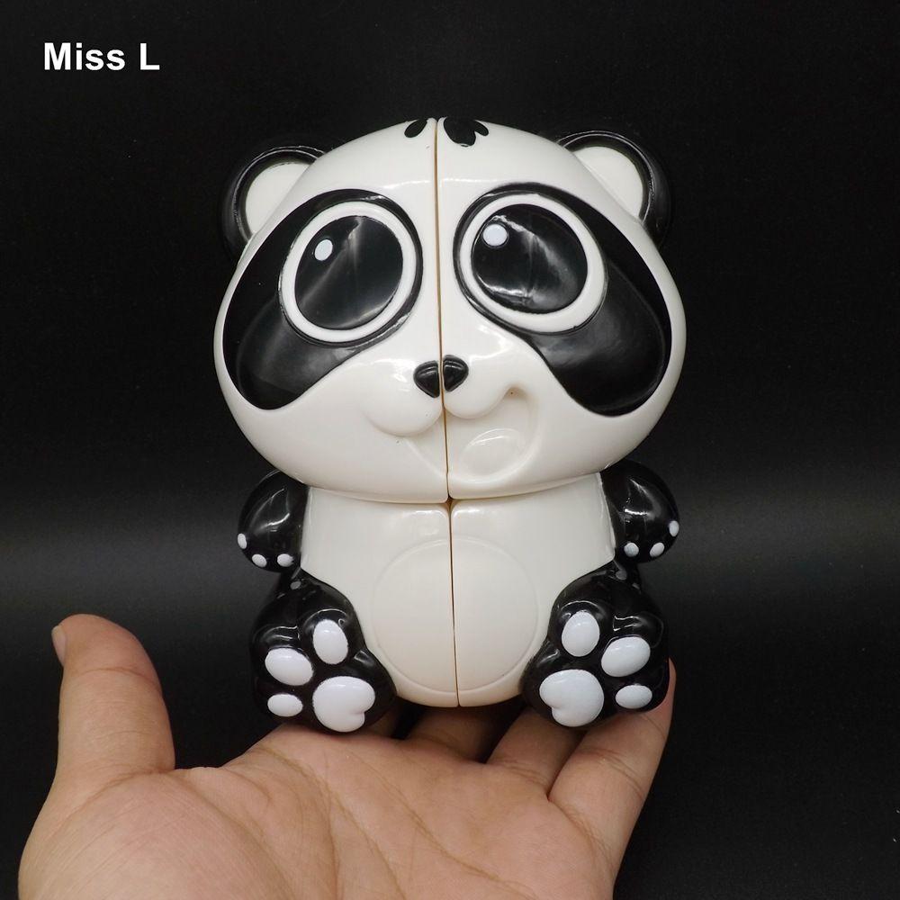 Panda Magic Cube Puzzle Novelty Gadget Early Head Start Training