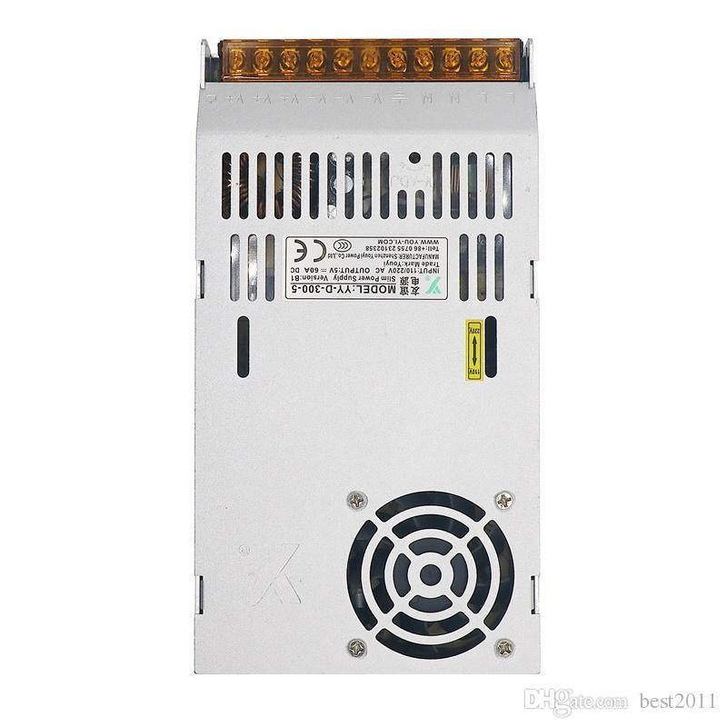 Display LED LCD Monitor de DC5V 60A 110V Switch To 220V 300W comutação de alimentação Adapter Driver Transformer