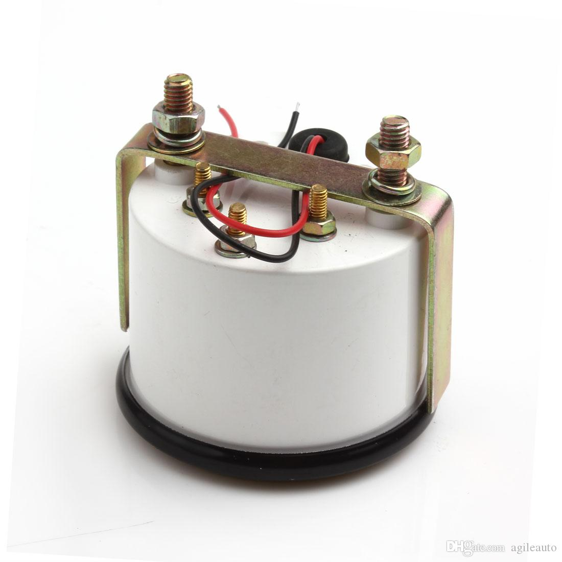 Marque Nouvelle Auto Instruments Nouveau 2inch 12 V Universel Voiture Pointeur Température De L'eau Température Jauge 40 - 120 Blanc LED CEC_545