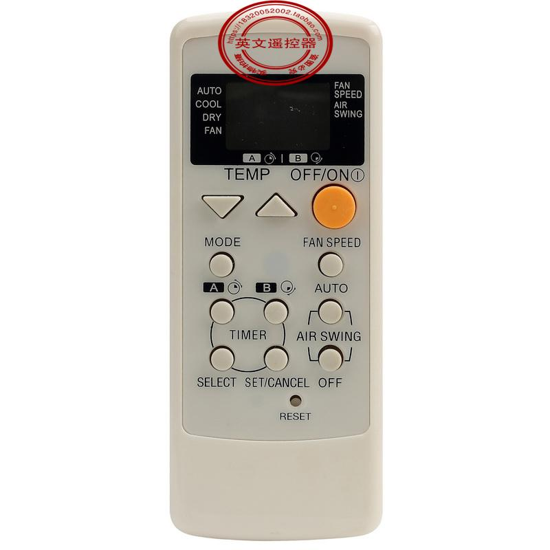 Wholesale- NEW General FIT Panasonic Air Conditioner A75C2563 A75C2565  A75C2432 A75C8464 remote control 1PCS