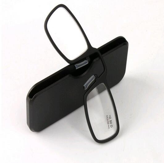 2016 جديد أسود الأنف كليب المغناطيسي tr90 نظارات القراءة الرجال النساء نظارات الديوبتر نظارات الرجال طويل النظر