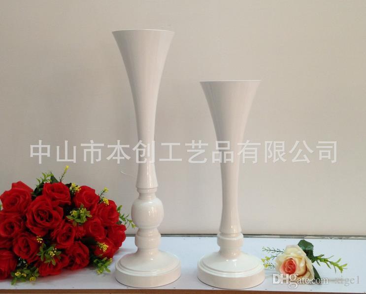 Белый металл ВАЗа свадьба цветок стенд центральные Height40/50cm