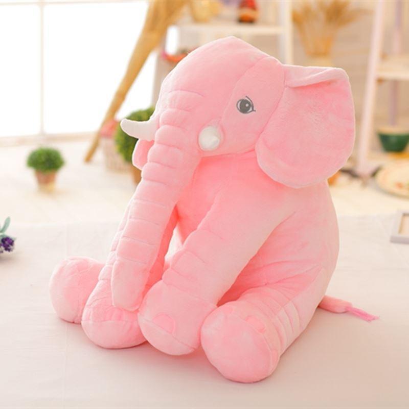 40 cm Nueva Moda Animales juguetes de Peluche Suave Elefante Almohada Bebé Dormir Juguetes Habitación Decoración de la Cama Juguetes de Peluche para niños