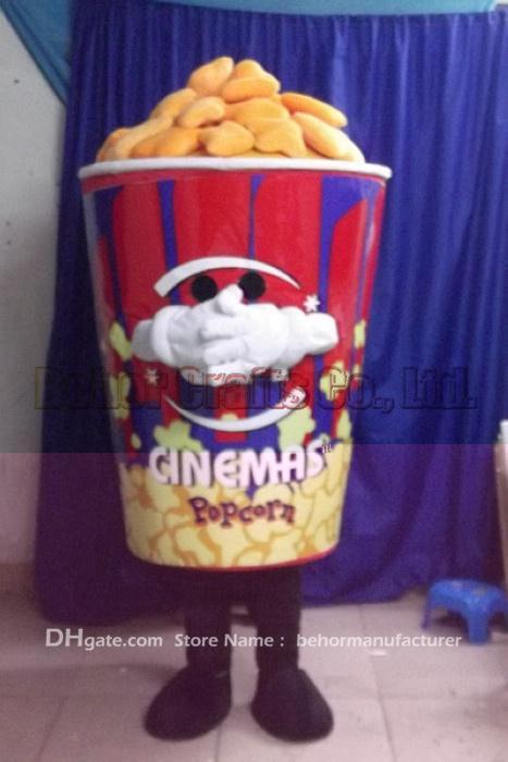 Popcorn Mascot Costume High Quality Cheap Plush Popcorn Bucket Mascot Cartoon Set Adult TypeCan Be Replaced Design Mexican Costumes Ladybug Costume From ... & Popcorn Mascot Costume High Quality Cheap Plush Popcorn Bucket ...