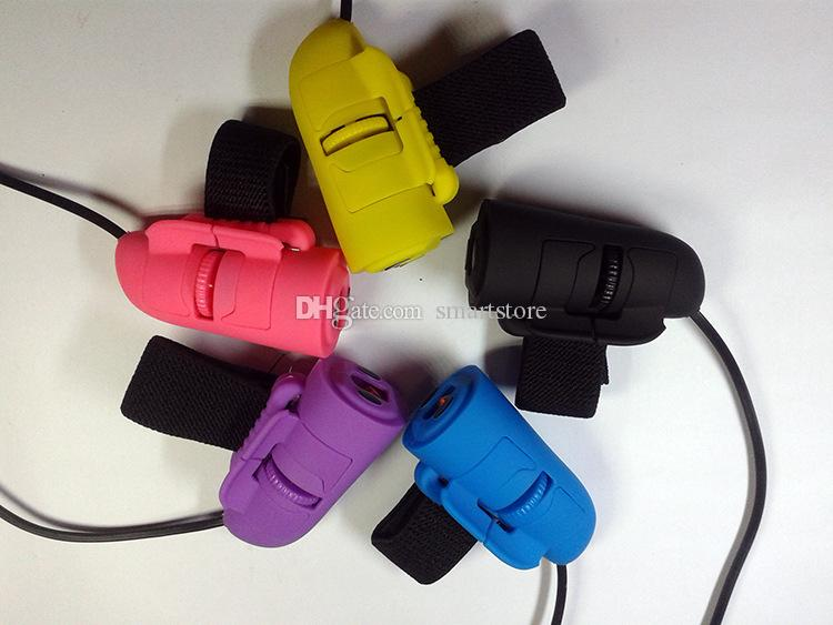 미니 USB 유선 3D 옵티컬 핸드 헬드 손가락 반지 마우스 마우스 노트북 PC 수첩 0001