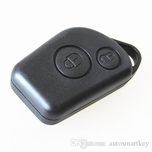 High quality car replacement key shell for citroen elysee 2 button remote key blank case cannot put blade