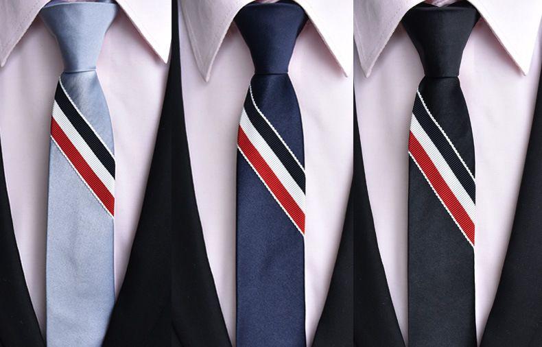 Hommes coréens version de la ceinture de mode Cravate Voyage d'affaires bon partenaire Nouveaux produits chauds Cou Cravates