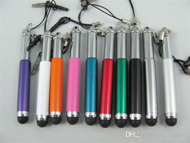 Wholesale - Retractable Stylus Pen Touch Pens For Capacitive Screen IPAD PHONE Tablet PC