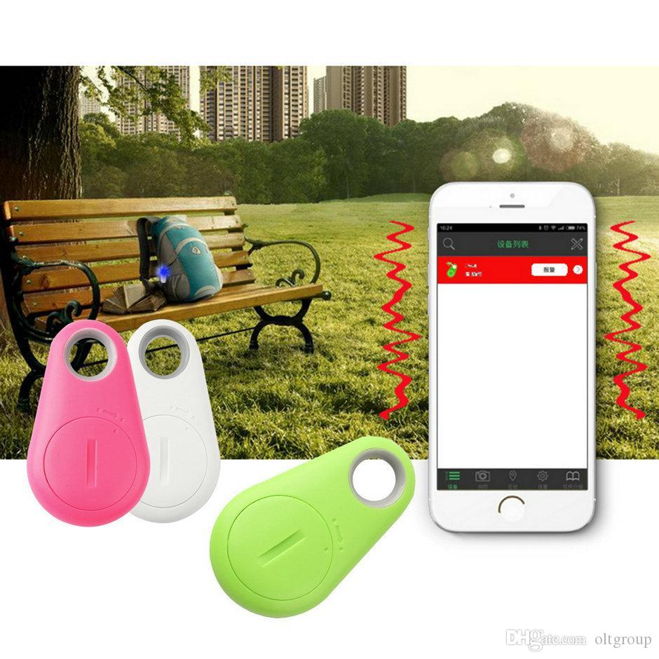 Smart Finder Wireless Bluetooth GPS Tracker bluetooth Tracer Anti-lost mini GPS location Kid Pet Wallet key Chain Finder GPS Locator Alarm