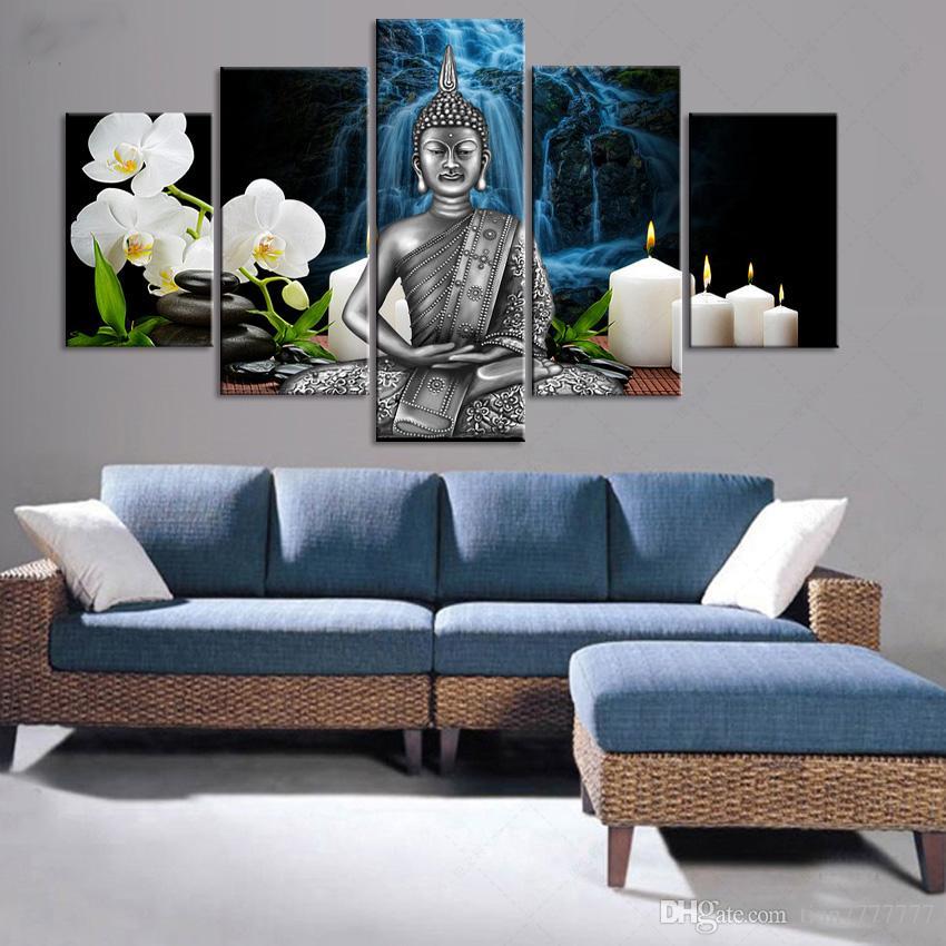 Acheter Décoration Artisanale De Mode Art De Mur Image 5 Panneau