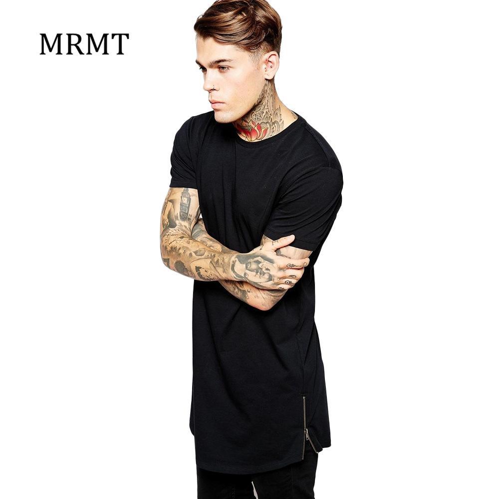 eb3450c7 X201710 MRMT 2017 Long T Shirt Men Hip Hop Black T-shirt Longline ...