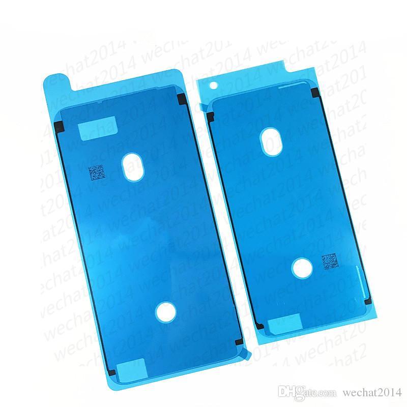 500 ШТ. 3 М Предварительно Разрезанный Водонепроницаемый Клейкая Лента Клей для iPhone X 6 6 s 7 8 Плюс Передний Корпус ЖК-Экран Кадр Наклейка