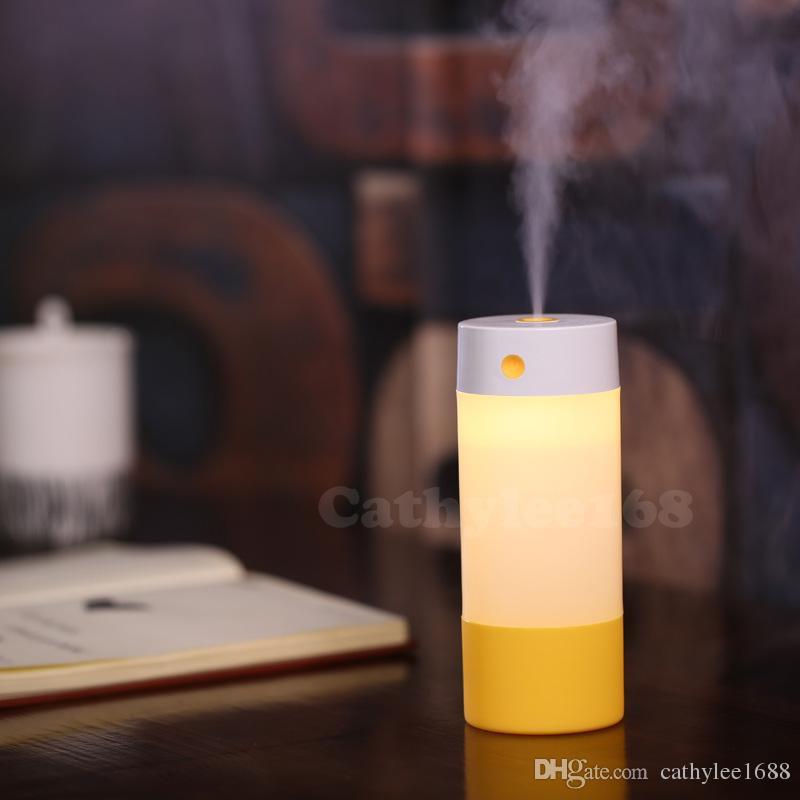 Freies Verschiffen 250 ml Aroma Diffusor Ätherisches Öl Diffusor Ultraschall Luftbefeuchter Aromatherapie LED Licht Nebelhersteller Diffusor Auto Luftreiniger