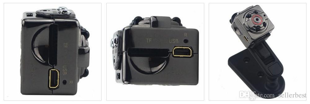 SQ8 940NM Kleine Mini DV Auto Kamera Auto DVR Recorder Bewegungserkennung 1080P Full HD Sport DV Stimme Video Infrarot Nachtlicht 4 LED Camcorder