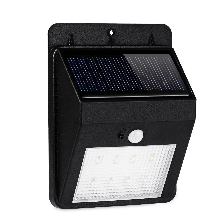 Solar Light 8 LED Outdoor Solar Powerd,Wireless Waterproof Security Motion Sensor Light for Patio, Deck, Yard, Garden,Driveway