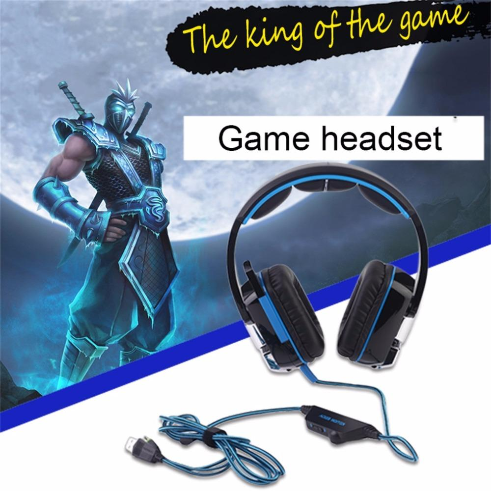 Comfortable Kotion Each Stereo Gaming Headset Pc With Mic Over Ear ...