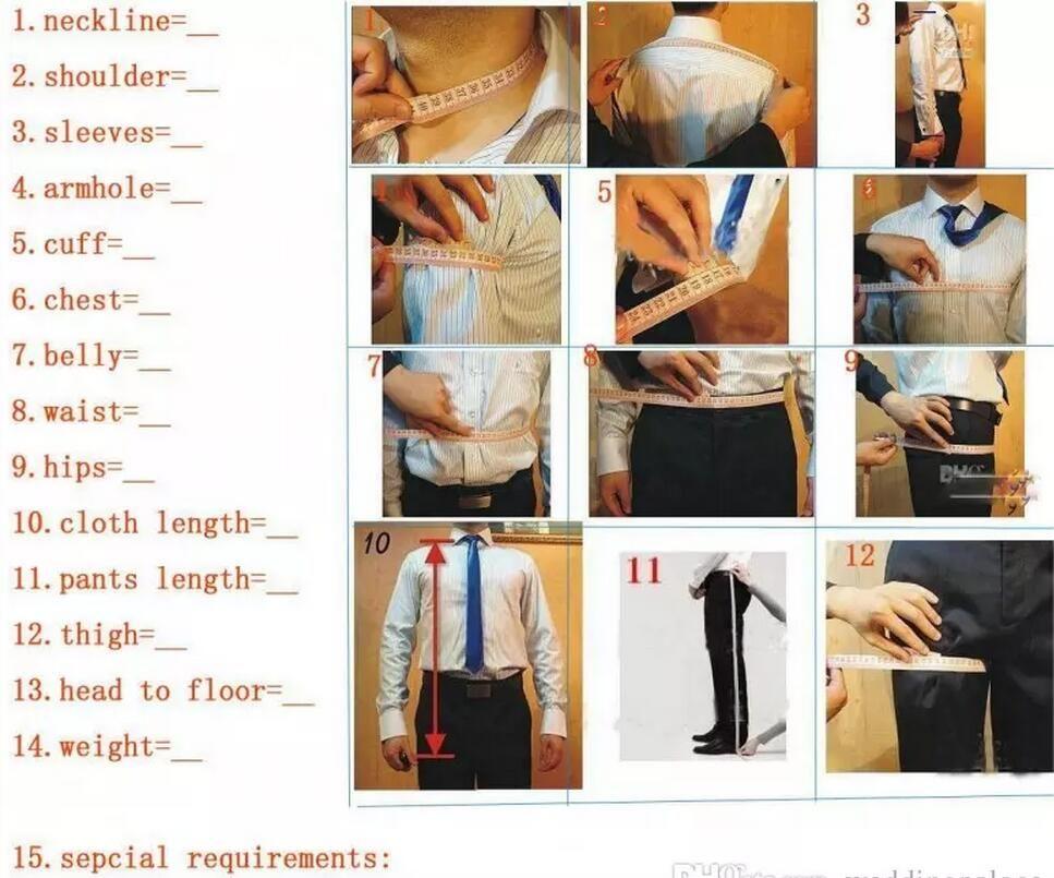 Noir embrodiery smokings marié Châle blanc Lapel Le meilleur homme Costumes de mariage Robes Blazer costumes pour hommes dîner Tux formelle veste + pantalon + Gilet