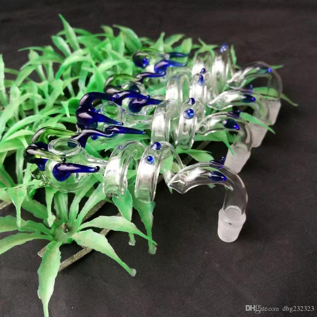Levando em linha reta panela de vidro assado forma pote Hookah Acessórios